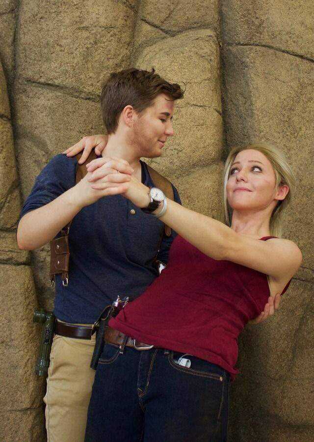 Uncharted Nate And Elena Cosplay Amino