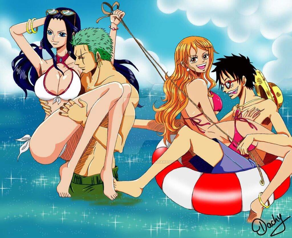 Think, one piece beach porn opinion