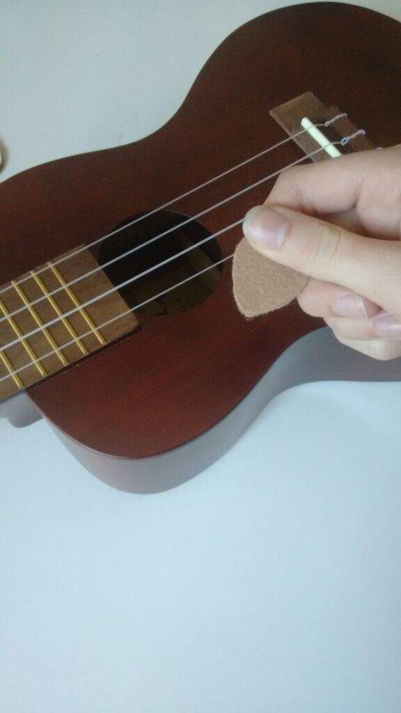 diy felt ukulele picks life on 4 strings amino