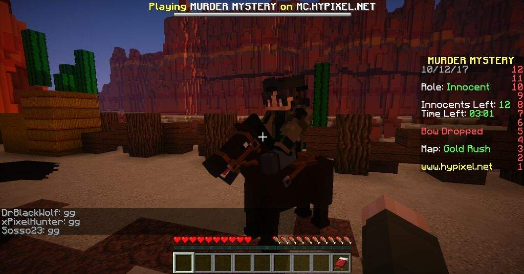 My thoughts on Murder Mystery from Hypixel | Minecraft Amino
