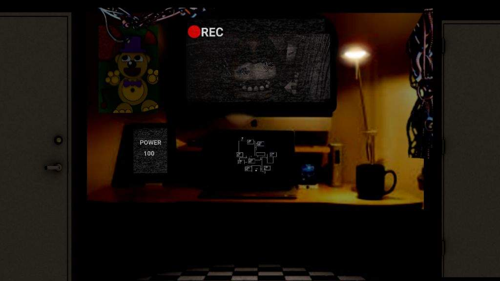 Fan made office | Five Nights At Freddy's Amino