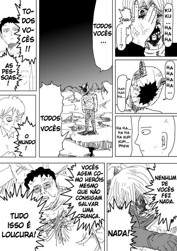One Punch Man Saitama Vs Garou - Saitama VS Garou - webcomic (PT - BR) 5/5   One Punch Man ...