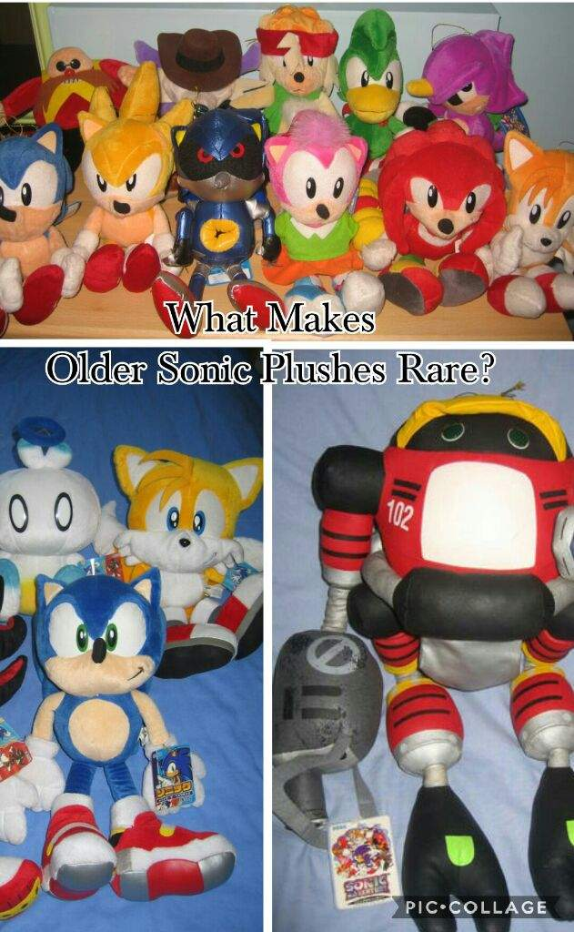 What Makes Older Sonic Plushes Rare Sonic The Hedgehog Amino