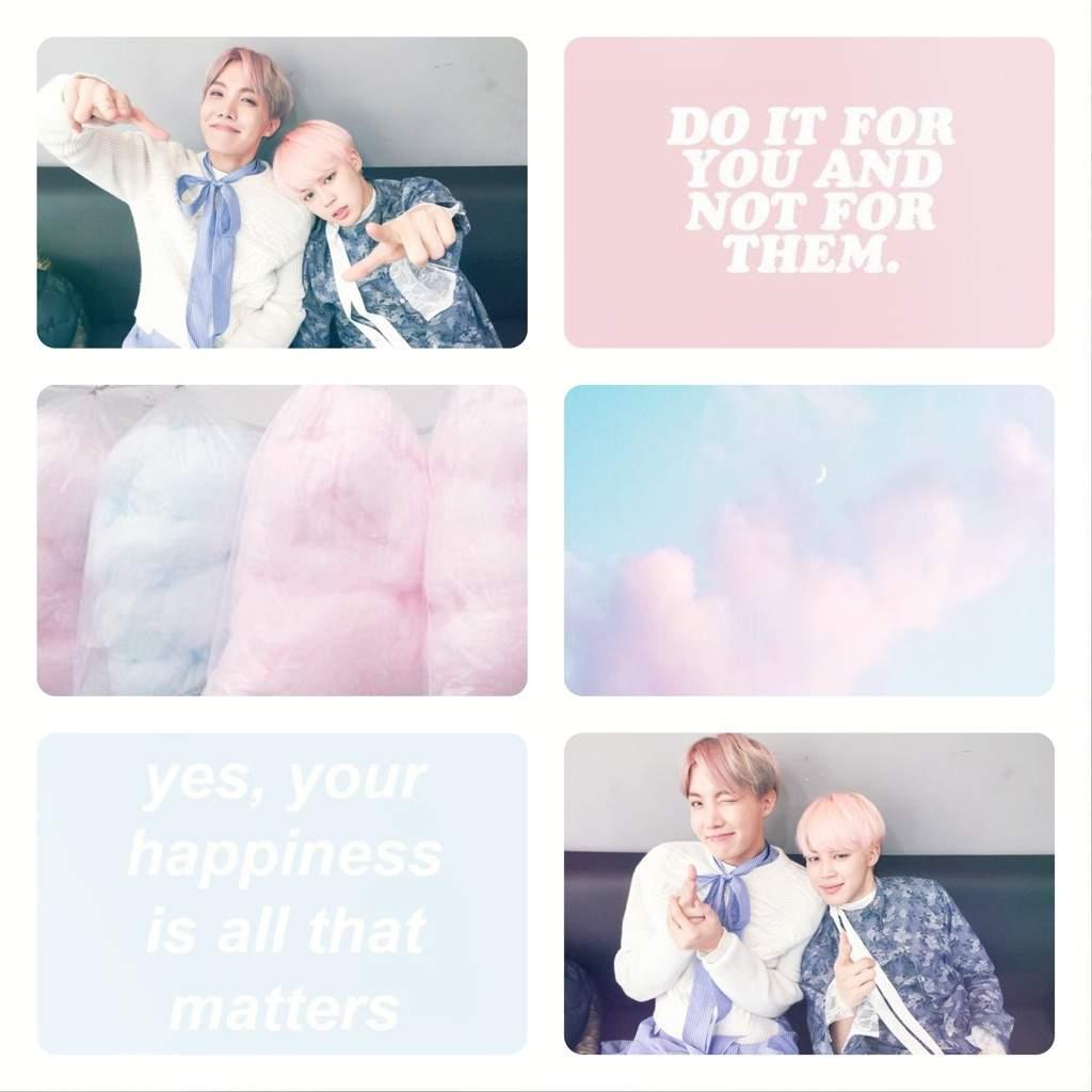 Jihope Hopemin Pastel Pink Blue Army Aesthetics Amino