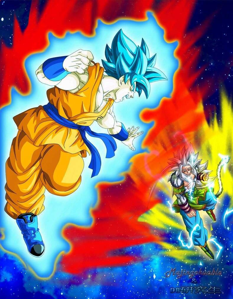 goku ssj blue vs goku ssj5 dragon ball oficial amino