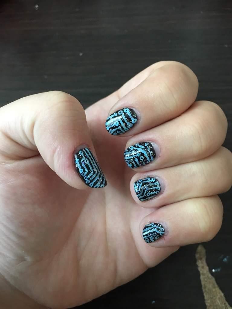 Squip Nail Art Be More Chill Amino