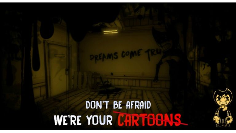 Dont Be Afraid We Are Your Cartoons Bendy And The Ink - bendy and the ink machine chapter1 roblox