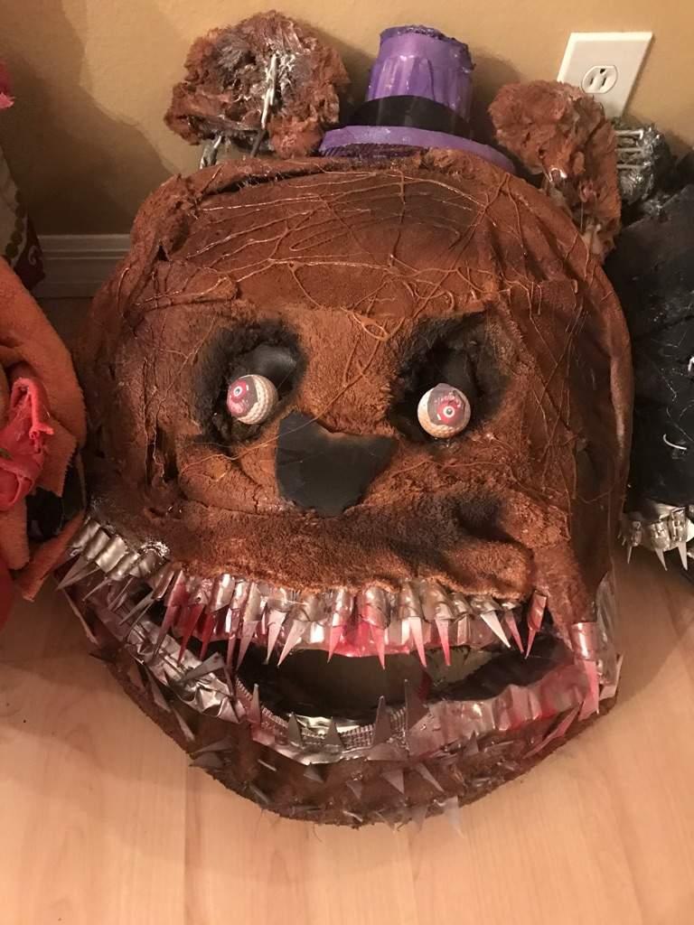 FNAF Cosplay - Nightmare, Nightmare FredBear, SpringTrap, and Foxy