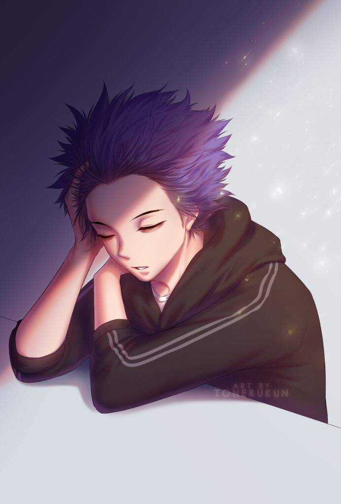 Sleepy Shinsou | BNHA | Manga Amino