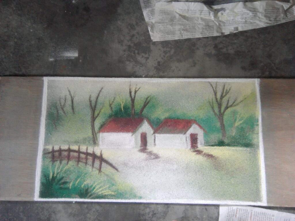 Nature Wallpaper Rangoli