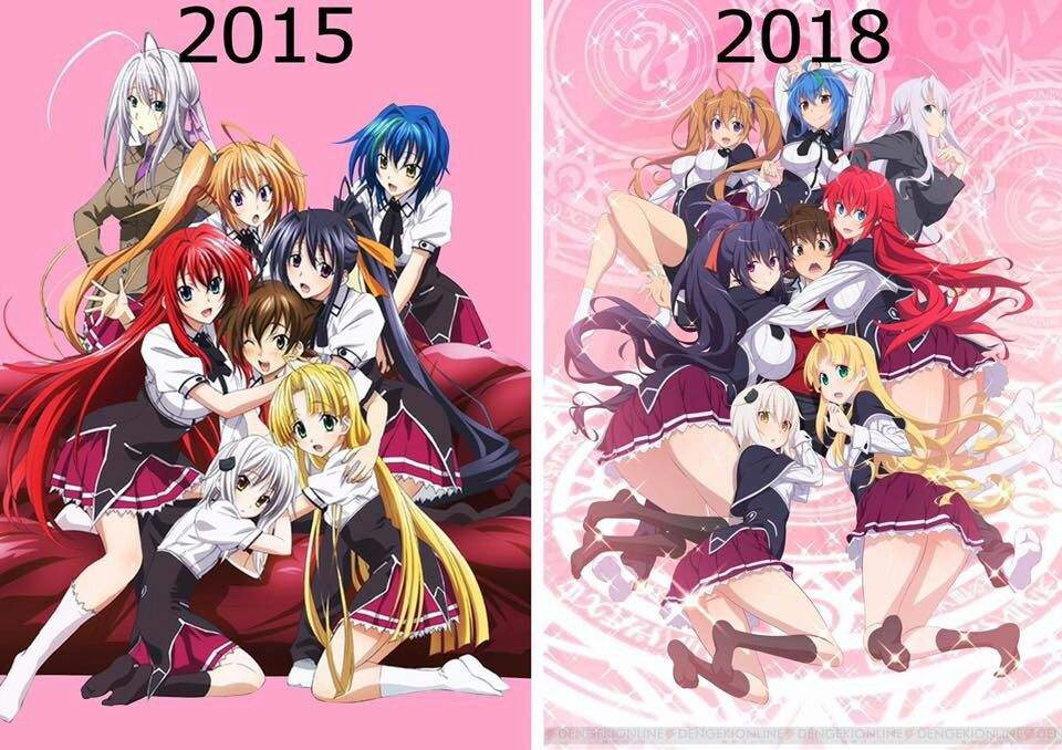Highschool dxd season 4