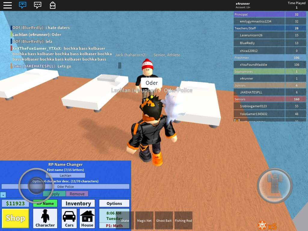 The Most Currupted Server On Roblox High School Roblox Amino - fire jake roblox