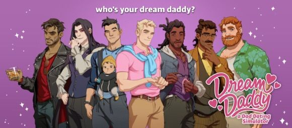 Dream Daddy: A Dad Hookup Simulator Characters In Game
