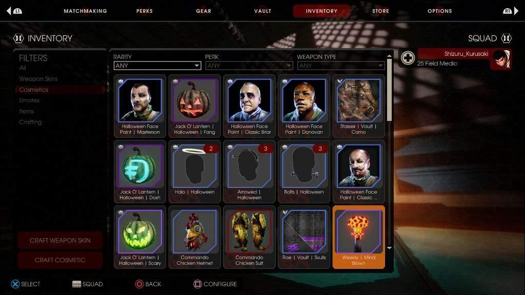 Killing Floor 2 S Vault Rewards Halloween Horrors Ps4