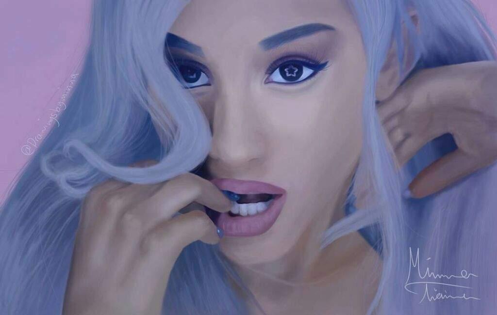 63e2532db ☁ Focus Fanart ☁ | Ariana Grande Amino
