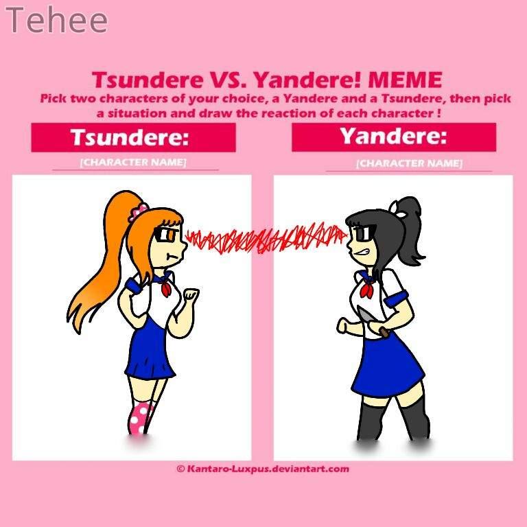 6d9dbffe1e91300412855706045de2ae5b9bb19e_hq tsundere vs yandere meme yandere simulator💜 amino