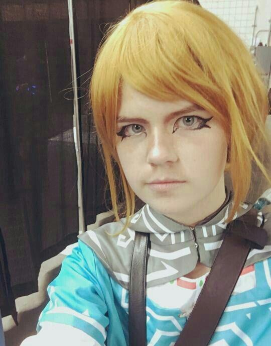 My Botw Link Cosplay Zelda Amino