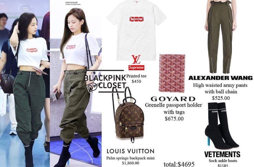 JENNIE'S EVERYDAY CLOTHES!