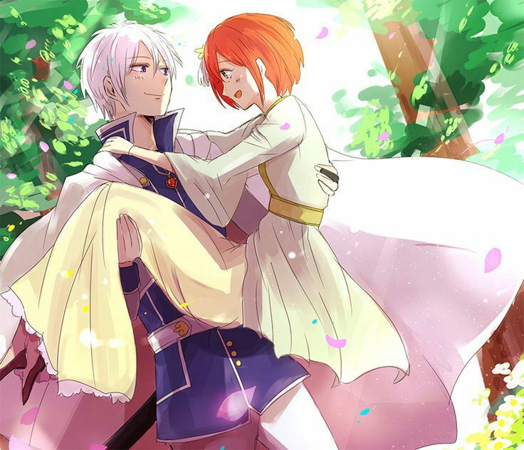 Zen X Shirayuki Snow White With The Red Hair Amino