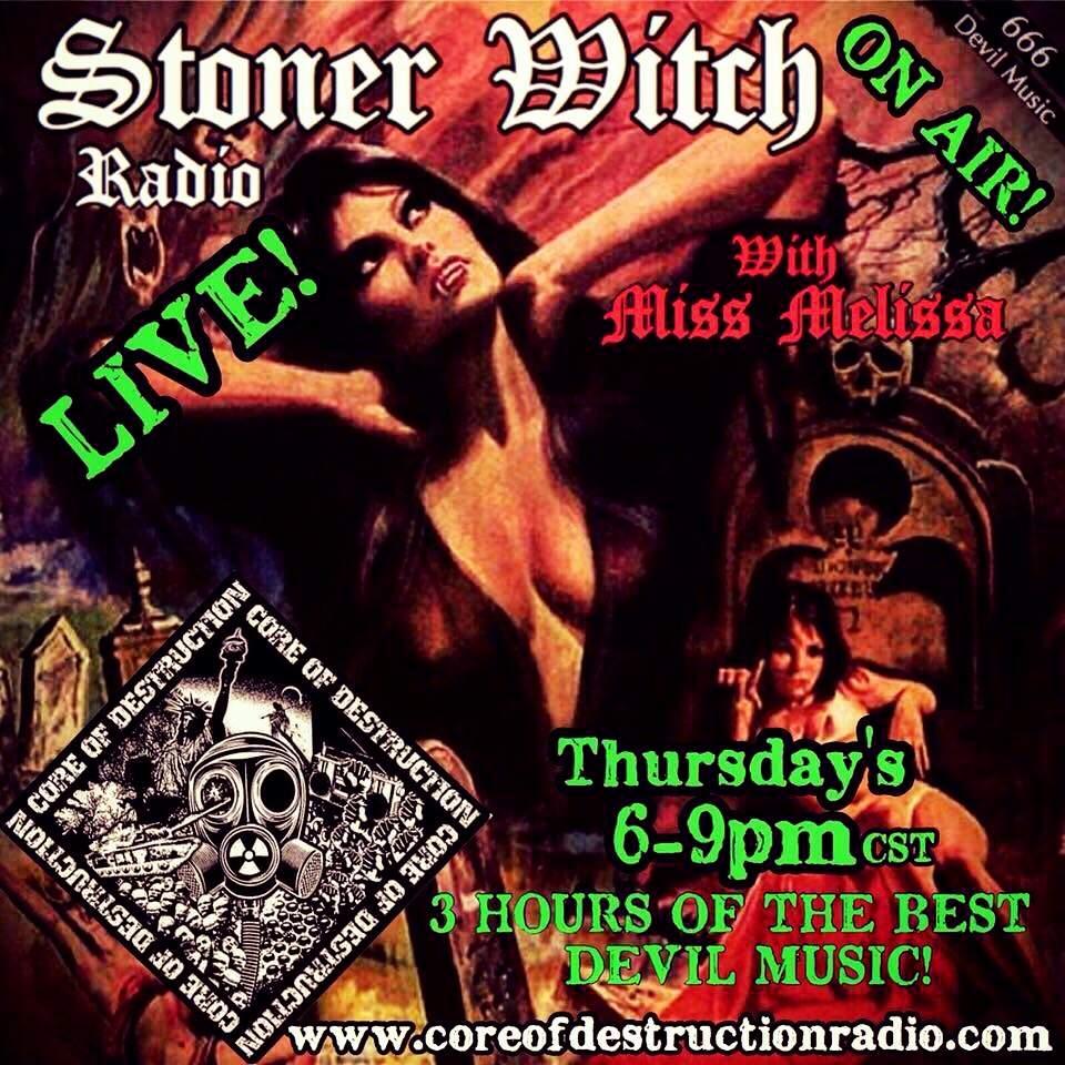 Stoner Witch Radio w/Miss Melissa   Metal Amino