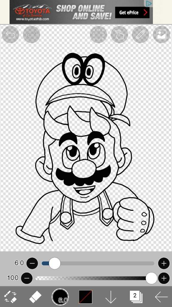 Mario And Cappy Mario Amino