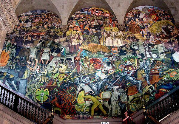 Mural El Hombre Controlador Del Universo