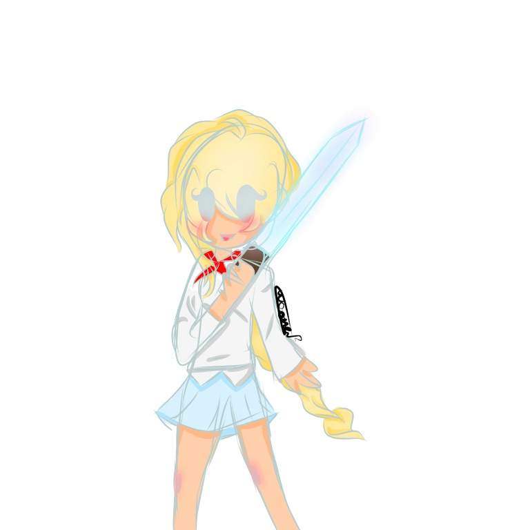 ⭐Coloured Girl Sketch⭐ | Minecraft Amino