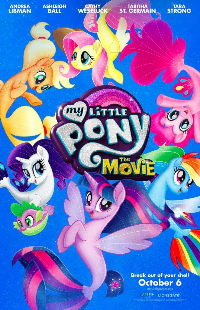 geek trekkin my little pony the movie news equestria amino