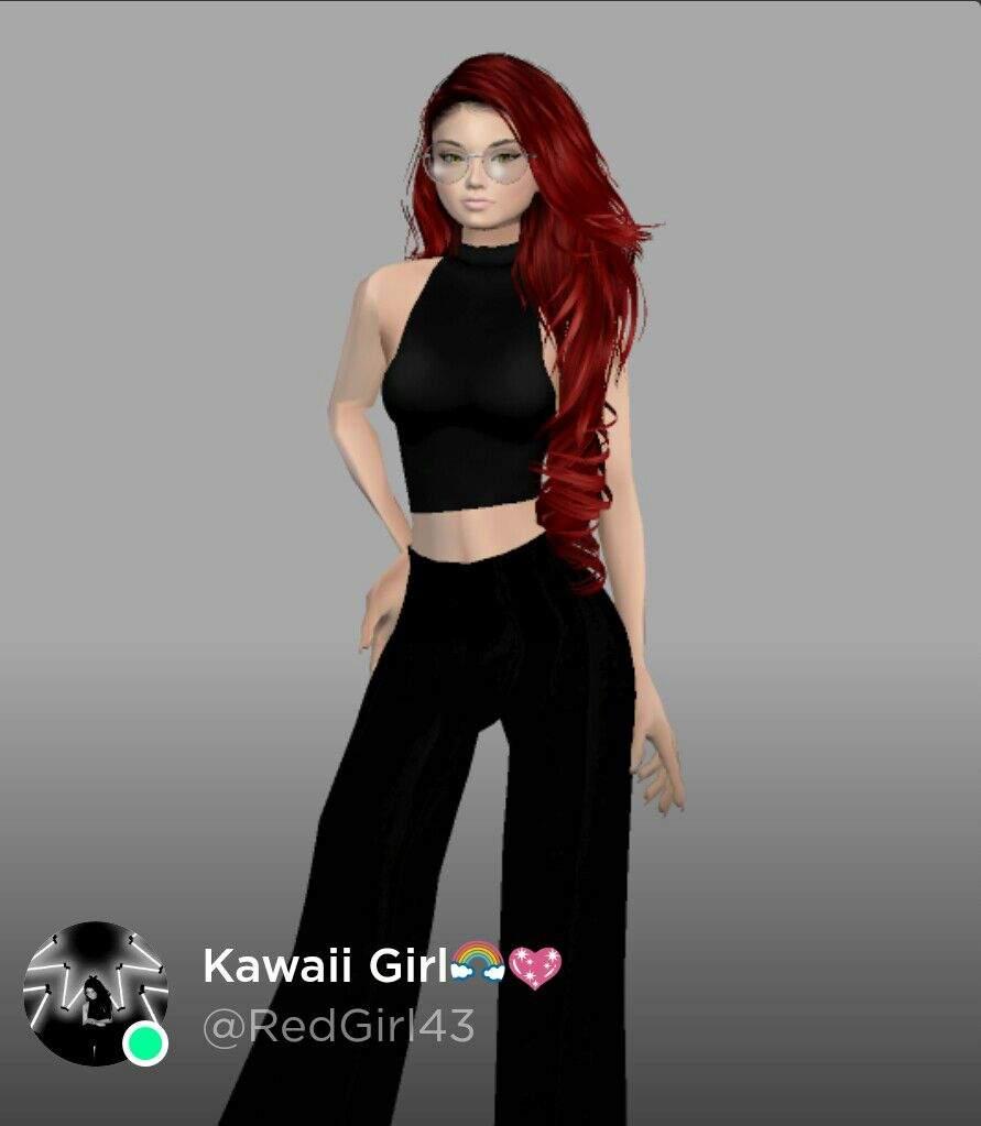 U guys can follow me in IMVU im Kawaii Girl🌈💖 and im