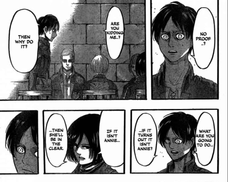 Mikasa Ackerman: thoughts    Attack On Titan Amino