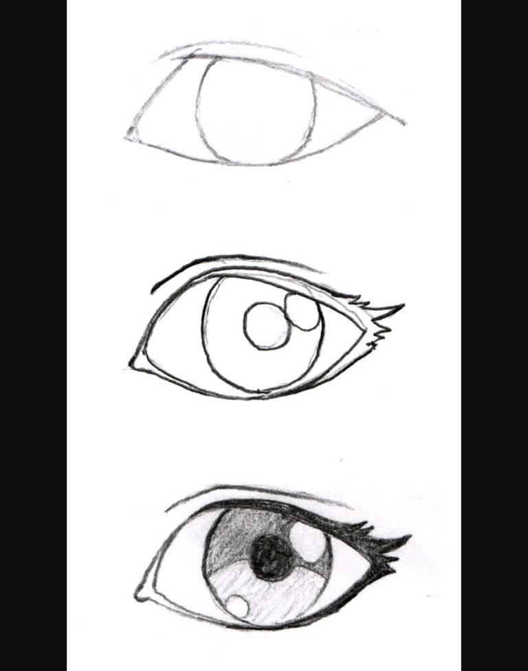 اساسيات رسم العين Arab Art تعلم الرسم Amino