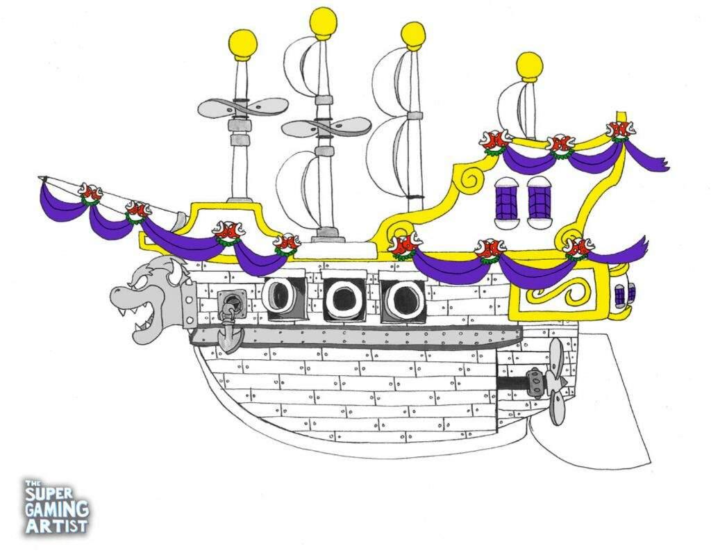 Inktober Day 25 Ship Video Games Amino