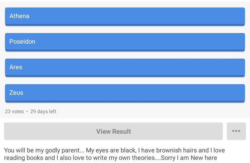 whos your godly parent