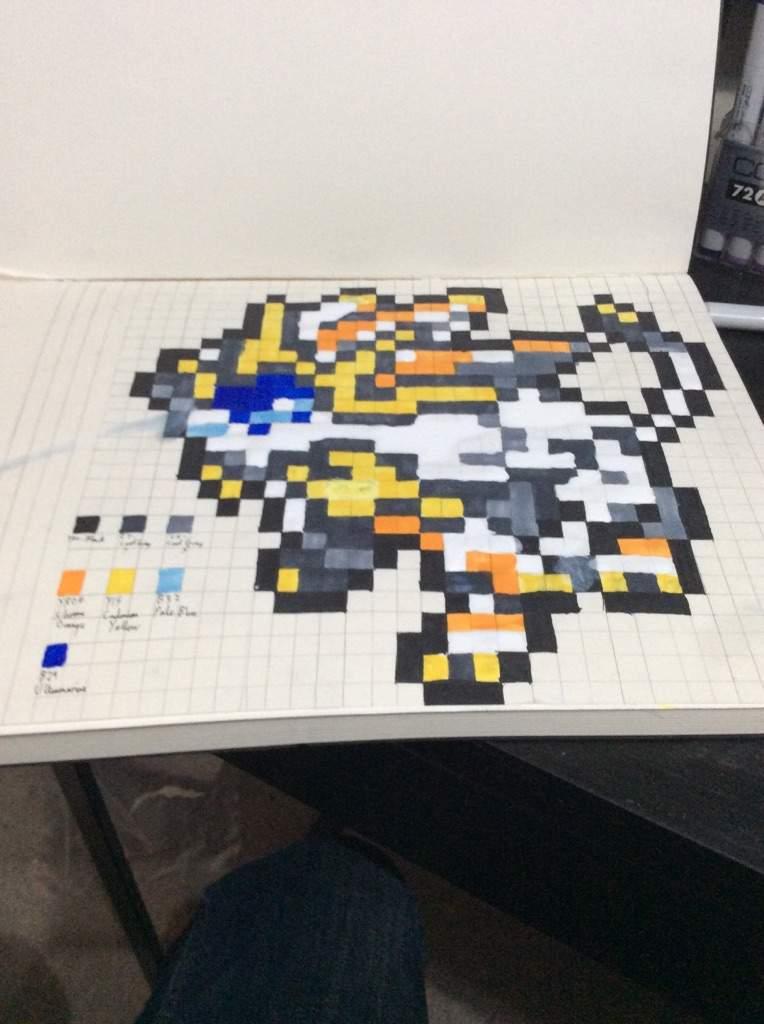 Pixel Art Solgaleo