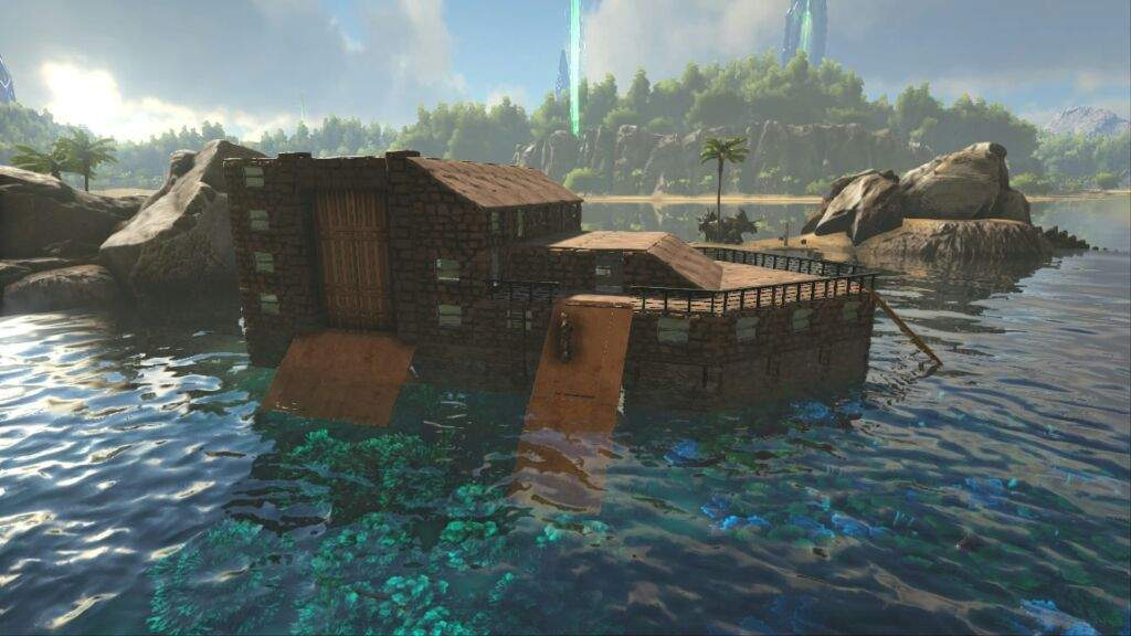 1st raft ever build by me | Wiki | Ark Survival Evolved Amino