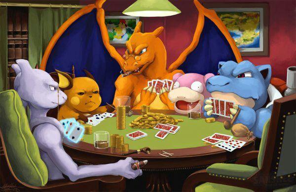 Pokemon Playing Poker Pokemon Amino