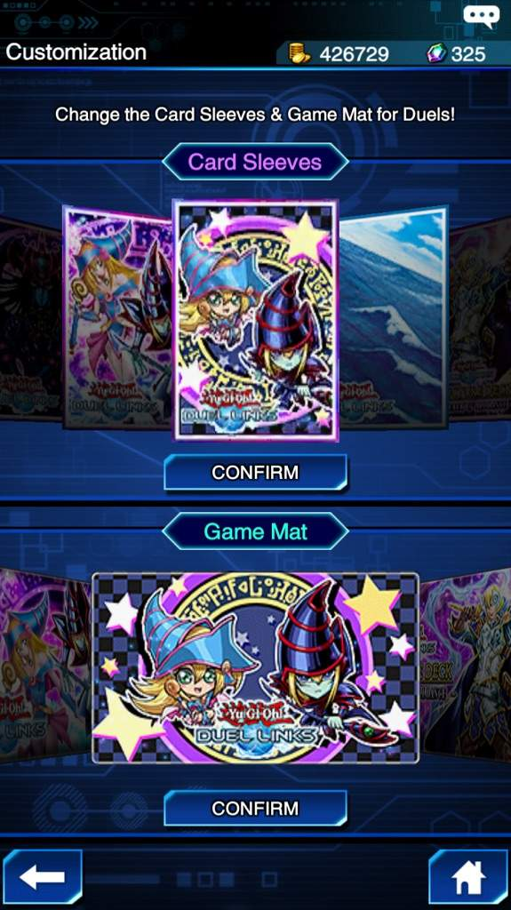 My top 5 sleeve and game mats in Duel Links!!! | Yu-Gi-Oh! Duel