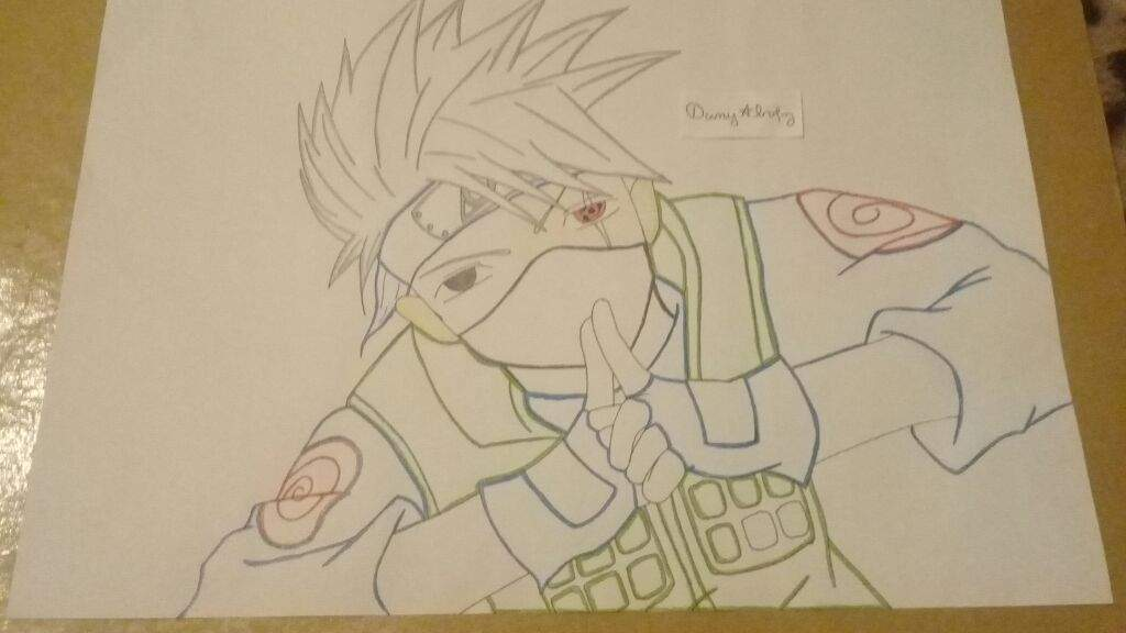 Dibujo De Kakashi Sensei Naruto Amino Amino