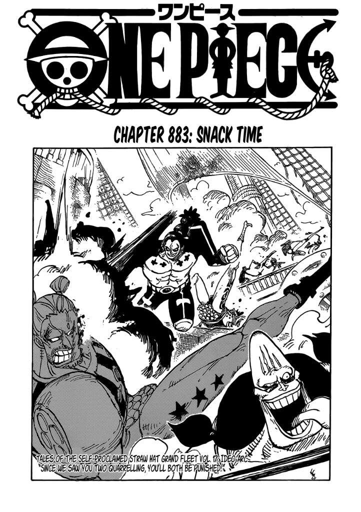 """😱""""CHAPTER 883"""" REVIEW 😂   One Piece Amino"""
