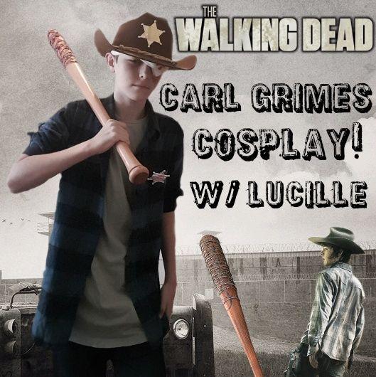 & My Carl Grimes Cosplay/Halloween Costume! | Walkers Amino
