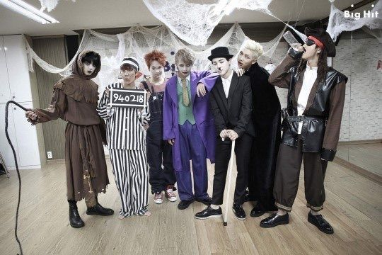 BTS Halloween Over The Years🎃   ARMY's Amino