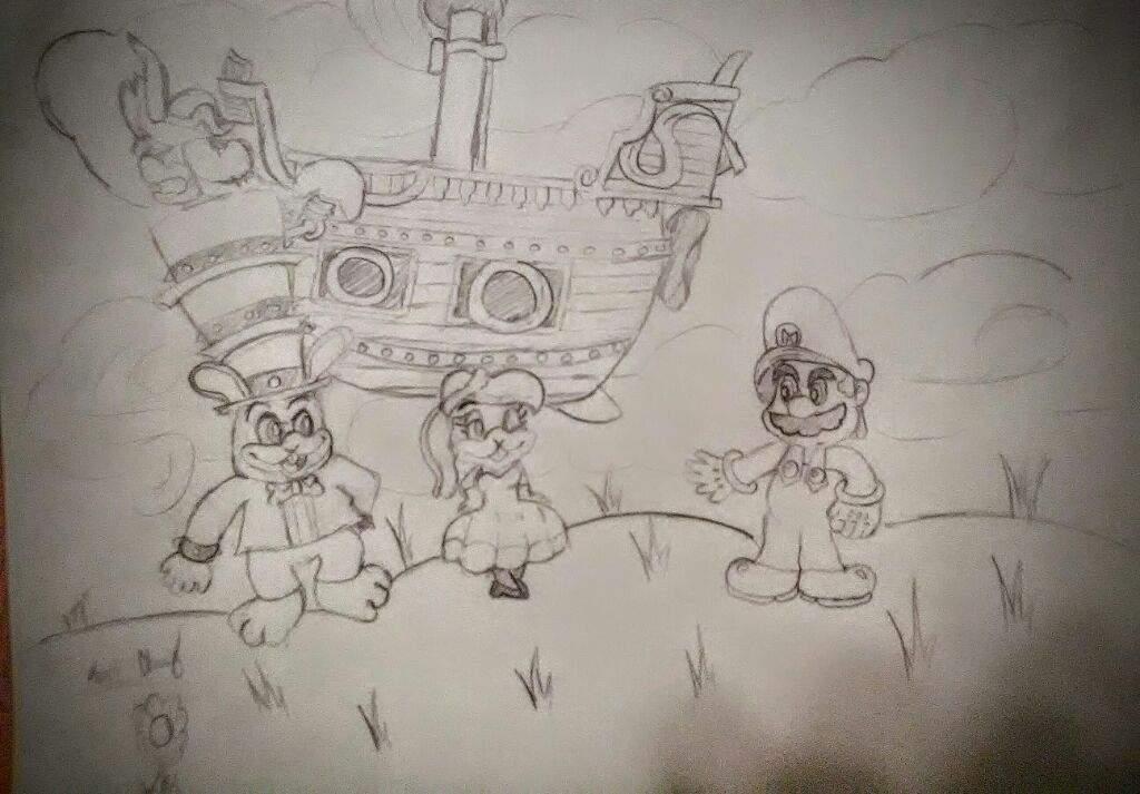 Super Mario Odyssey Drawing Mario Amino