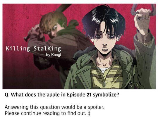 Killing Stalking Special Q&A with Koogi! | Killing ...
