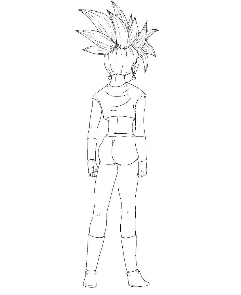 Render Kefura Fusion De Kale Y Caulifla Dragon Ball Super