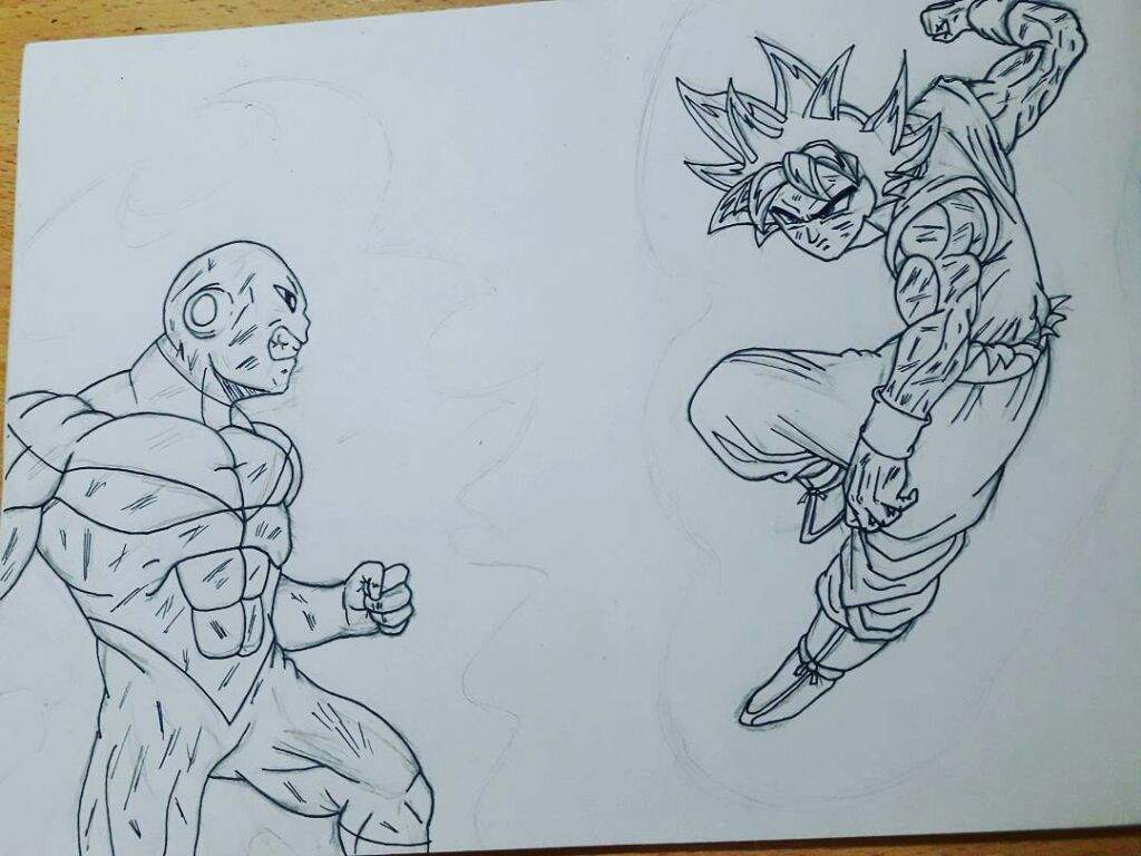 Goku Vs Jiren Ultra Instinct Coloring Pages Pictures To