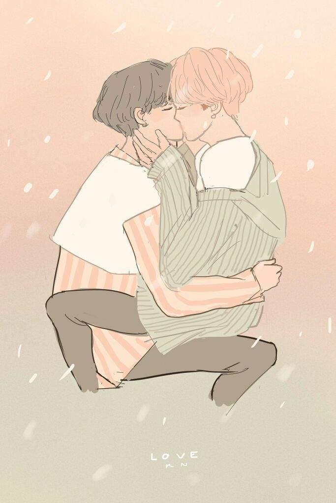 Yoonmin Kiss | YoonMin Couple Amino