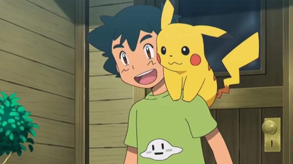 Ash e Pikachu
