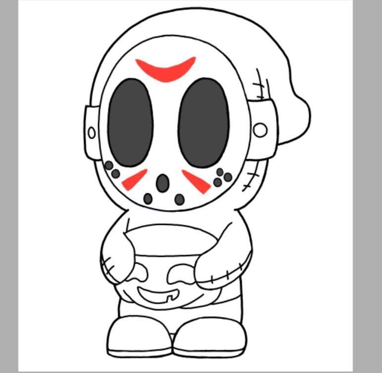 Fanart de shy guy especial halloween super mario for Shy guy coloring pages