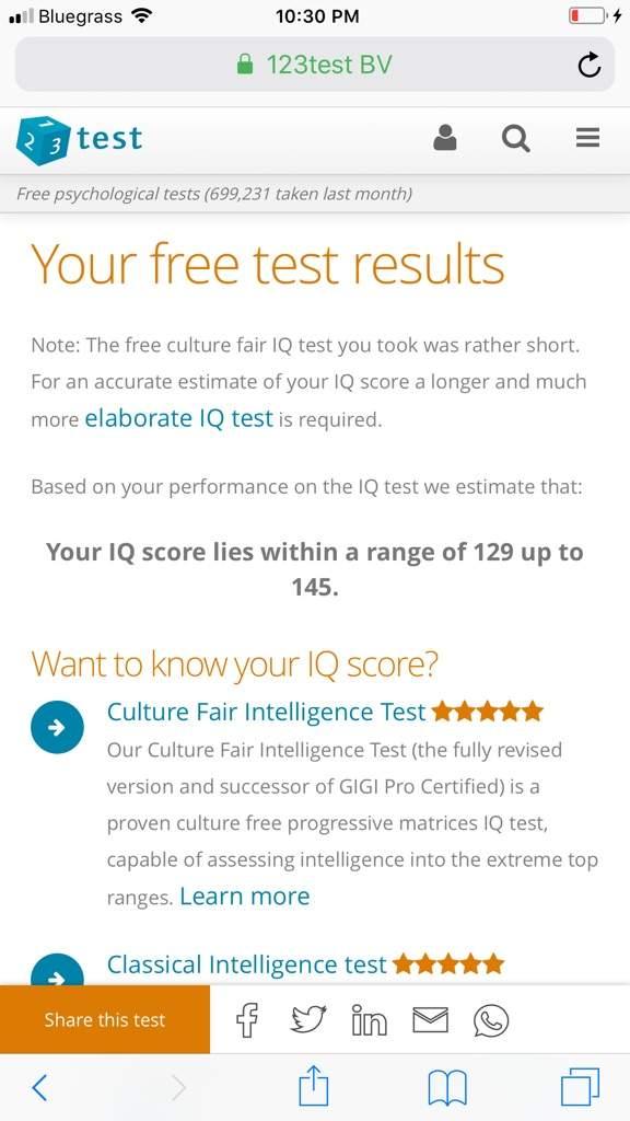 Culture Fair Iq Test