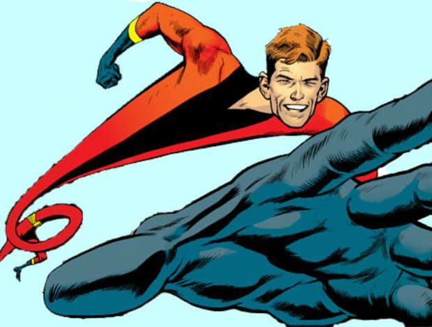Elongated Man Vs Flatman Comics Amino
